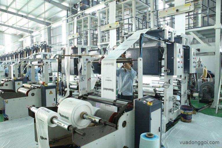 Công nghệ sản xuất túi nilon